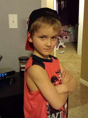 Kael Nicolosi, 8, died in a car accident on Feb. 9 in Chili.