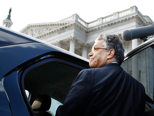 AP APTOPIX SEXUAL MISCONDUCT FRANKEN A USA DC