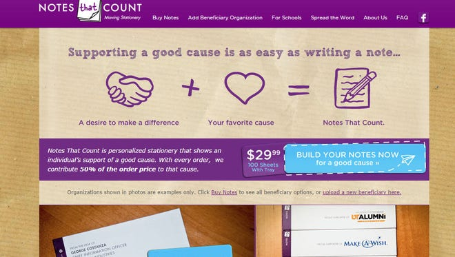 The Notes that Count website can be found at notesthatcount.org.