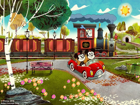 Mickey & Minnie's Runaway Railway will replace The Great Movie Ride inside Disney's Hollywood Studios' Chinese Theater.