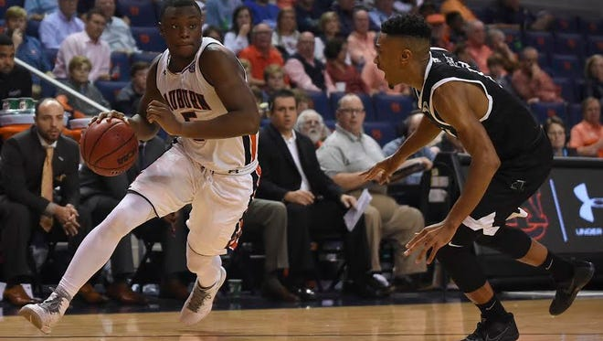 Auburn guard Mustapha Heron had 23 points in a 90-83 win over USC-Upstate on Nov. 29, 2016.