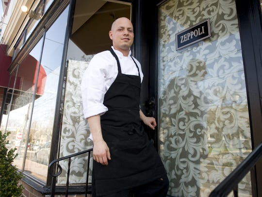 Chef/owner Joey Baldino of Zeppoli Restaurant in Collingswood