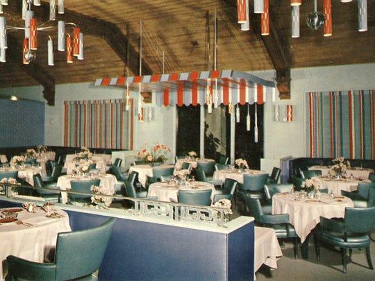 The Desert Inn Dining Room post Davies' remodel with