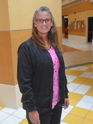 Melinda Hodges, RN, is the Nursery Unit coordinator at Parrish Medical Center in Titusville.