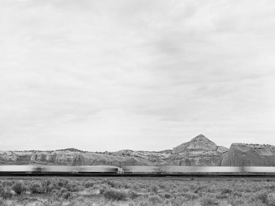 Mountains and Train