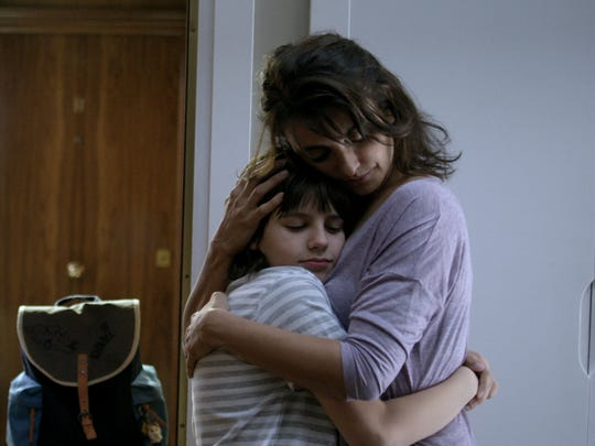 Mother and son: Magda (Penelope Cruz) draws strength