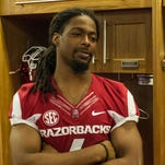 Keon Hatcher enters his senior season as the top receiver for Arkansas after leading the Razorbacks in receptions (43), receiving yards (558) and receiving touchdowns (6) in 2014.