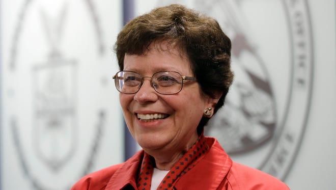 University of Wisconsin-Madison chancellor Rebecca Blank.