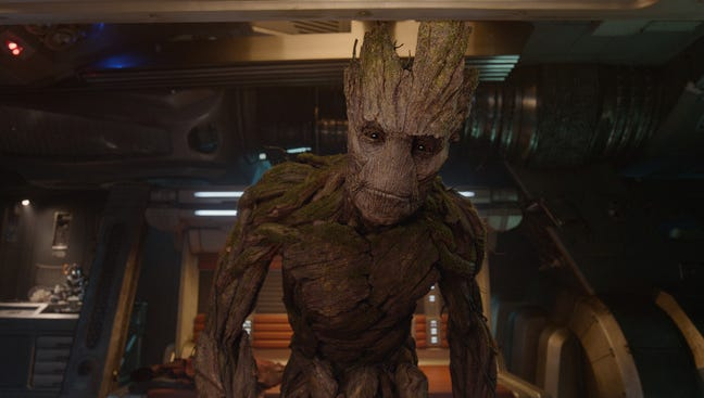 """""""Guardians of the Galaxy"""" was No. 1 at the box office over the Labor Day holiday weekend."""