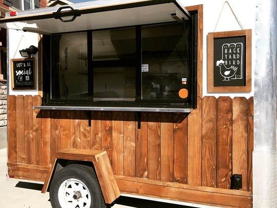 Backyard Bird is a new fried chicken food truck by