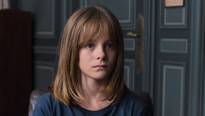 """Ève (Fantine Harduin) is a strange and quiet youngster in """"Happy End."""""""