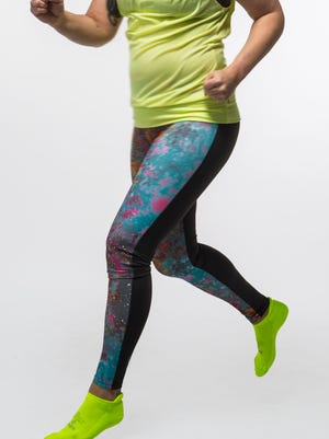 Onzie Two-Tone Leggings, $65Intended for hot yoga the products are also compatible with running and a general active lifestyle.
