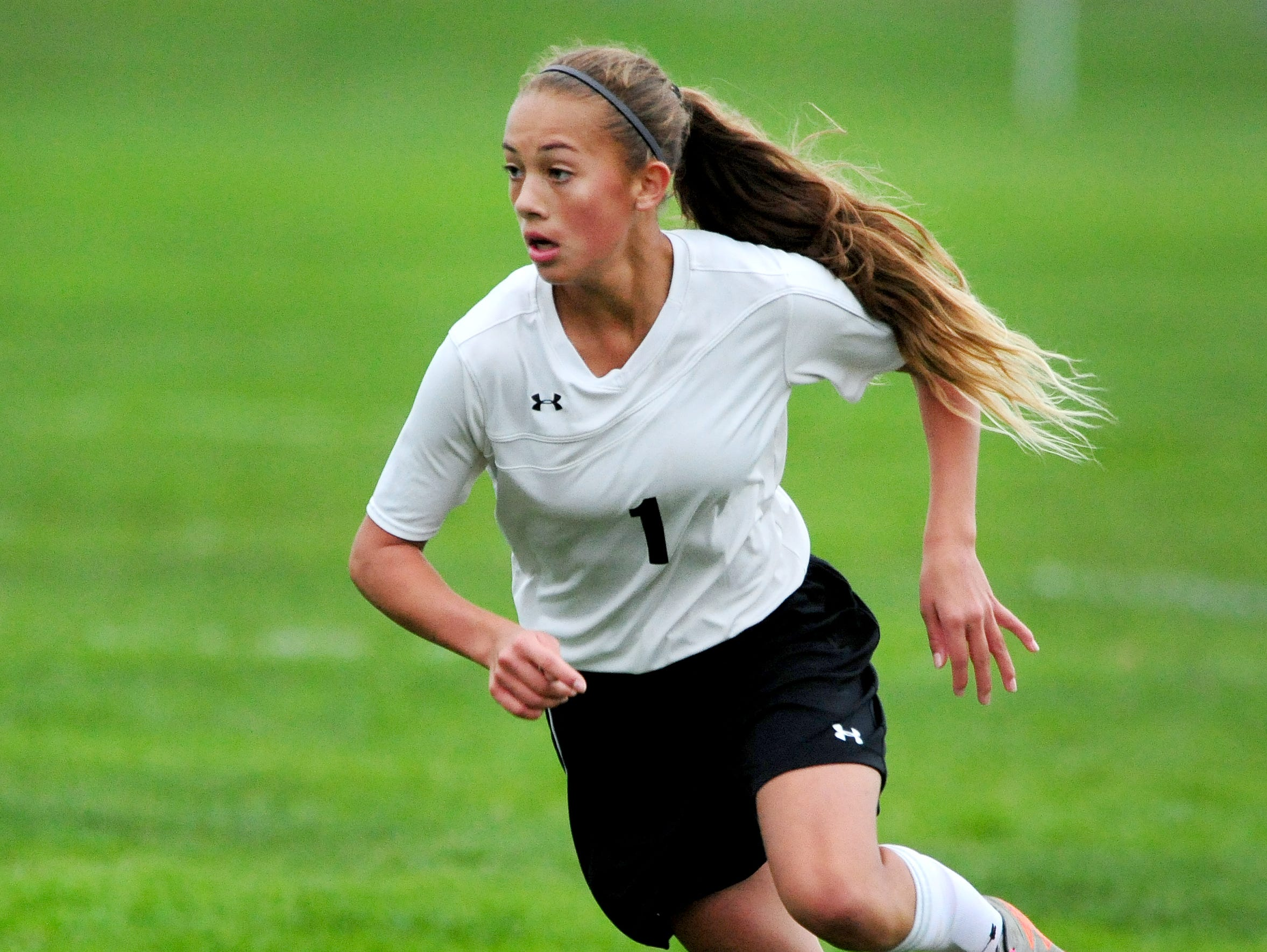 Brooklynn Petterson, who was named Oregon West Conference girls soccer player of the year, excelled in a banner year for sports at Cascade High School.
