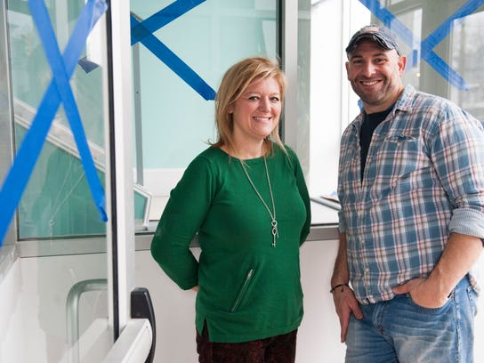 Medford Pop Shop co-owners Connie Correia and Bill