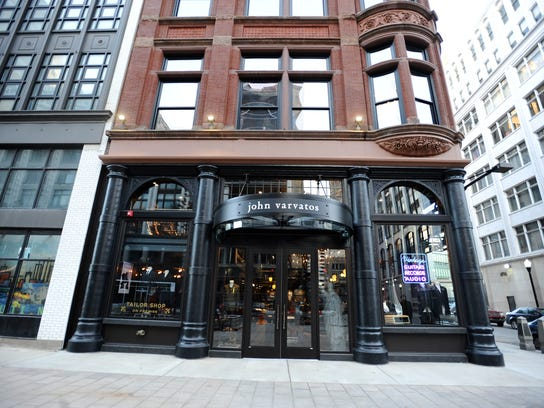 The John Varvatos store occupies the ground floor at