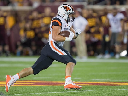 NCAA Football: Oregon State at Minnesota