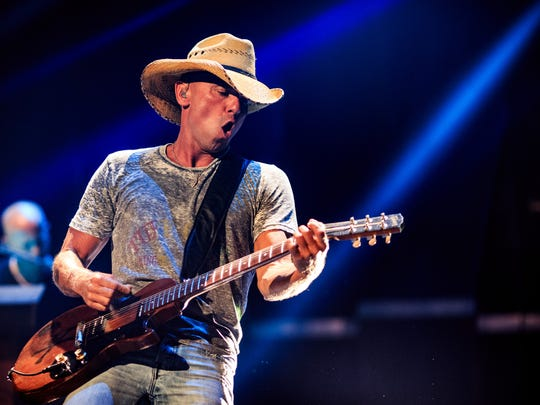 Recording artist Kenny Chesney performs onstage in 2015. Chesney headlines the C Spire Day of Country in Madison on Saturday.