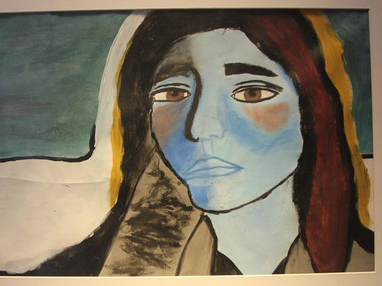 """Untitled"" by Yoalys Castillo, a Chiles High School freshman"