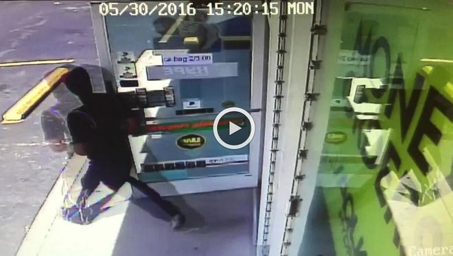 Robbery at Tiny Town Food Mart.