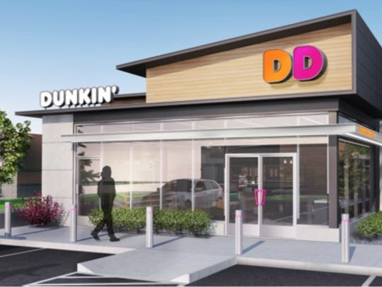 Dunkin' Donuts is bringing a new look to East Tennessee.