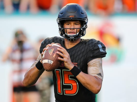 Miami quarterback Brad Kaaya could be poised for a