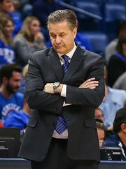 Kentucky Wildcats head coach John Calipari.