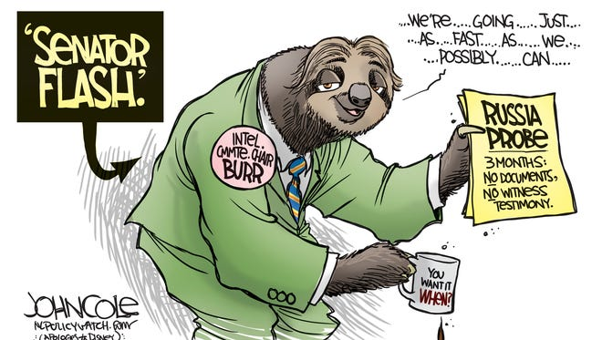 Richard Burr and Russia