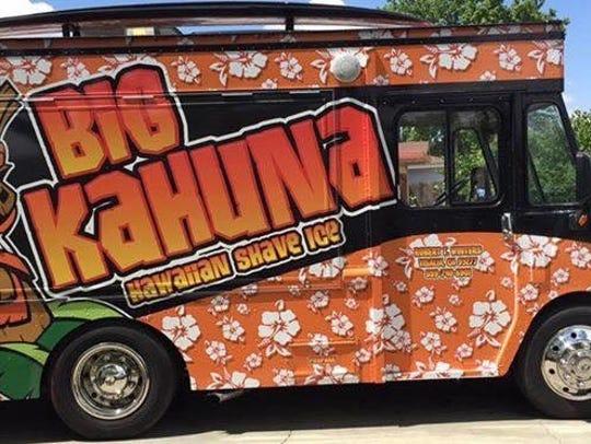 Big Kahuna Hawaiian Shave Ice, a Visalia-based mobile