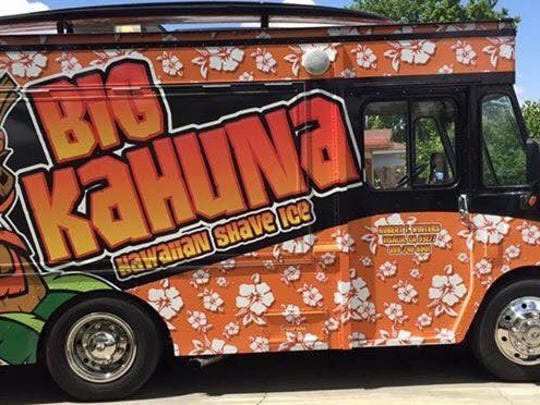 Big Kahuna Hawaiian Shave Ice, a Visalia-based mobile