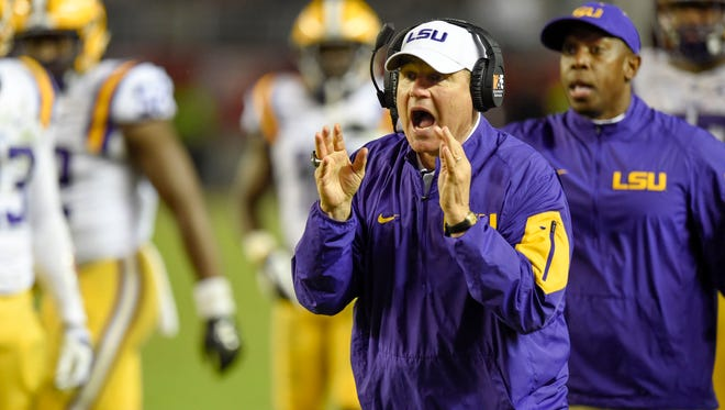 LSU coach Les Miles said Friday he expects Saturday's game vs. Texas A&M to be his last as the Tigers' coach.