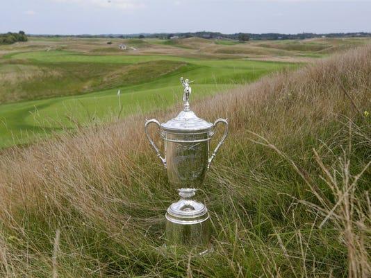 U.S. Open trophy goes on tour