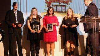 Michele Hughes, Teresa Picard, Gale Southard  and Jordan Braden.