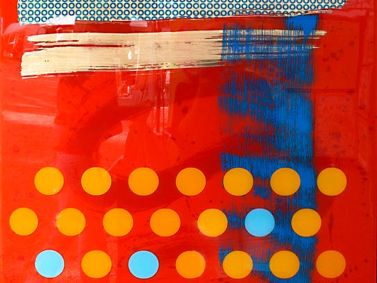 Nina Mickelsen is one of 200 artists at this weekend's