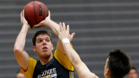 UWM guard Cody Wichmann is second on the team in scoring this season.