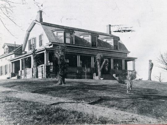 Home of Revolutionary War patriot Henry Garritse (Lexington Avenue at Garritse Place.