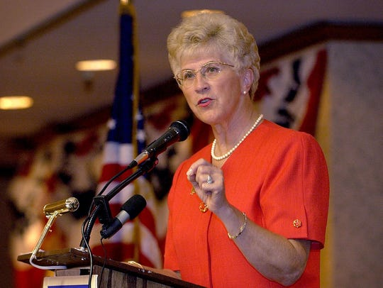Judy Martz, who served as Montana's governor from 2001-2005,