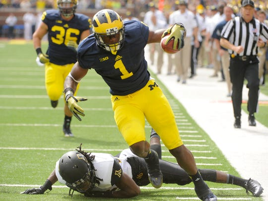 """Devin Funchess: """"I don't really care about what I ran at the combine. I know what I know, and my game speed is faster than what most can run."""""""