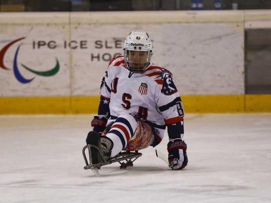 Jack Wallace, an Indian Hills graduate, plays forward