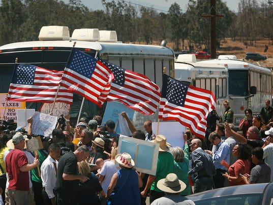 AP Immigration Overload California