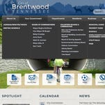 Brentwood unveils new city website