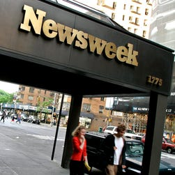 The editor's note on the 'Newsweek' investigation is eye-popping