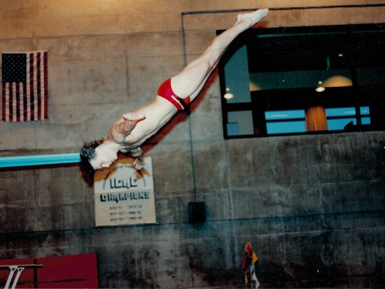 Devries had been an All-American diver.