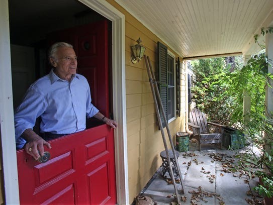 David Landay is photographed at his home in Cold Spring