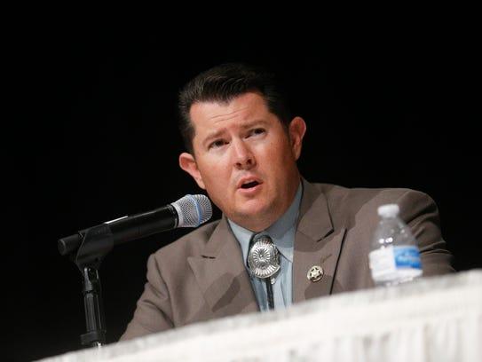 San Juan County Sheriff candidate Shane Ferrari answers