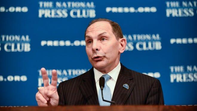Veterans Affairs Secretary Bob McDonald.