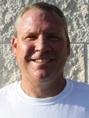 Irion County coach Lee Harvey