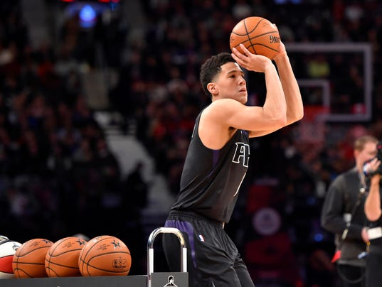 Image result for devin booker three point contest