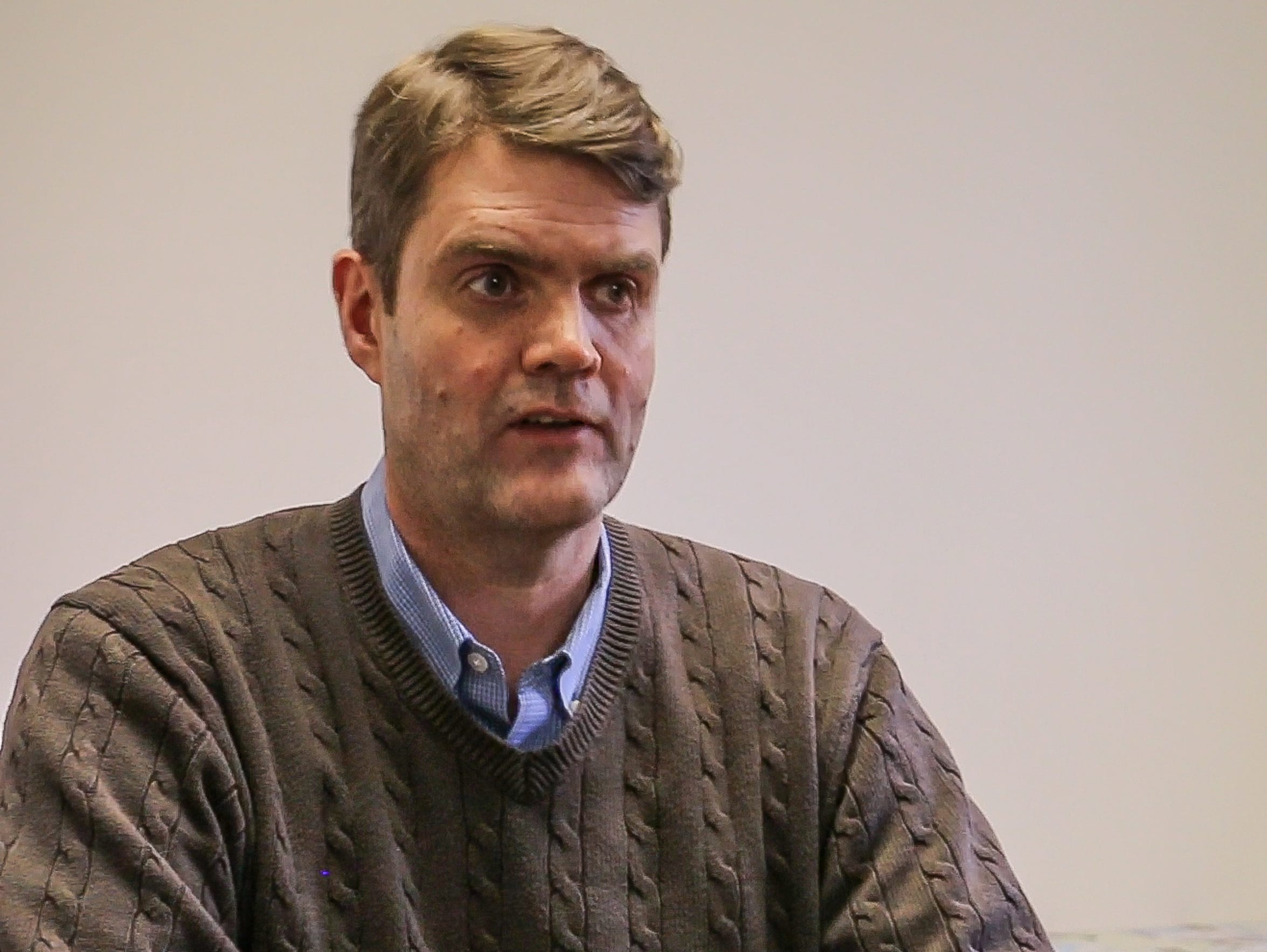 Peter Qualliotine, co-founder and director of menÕs