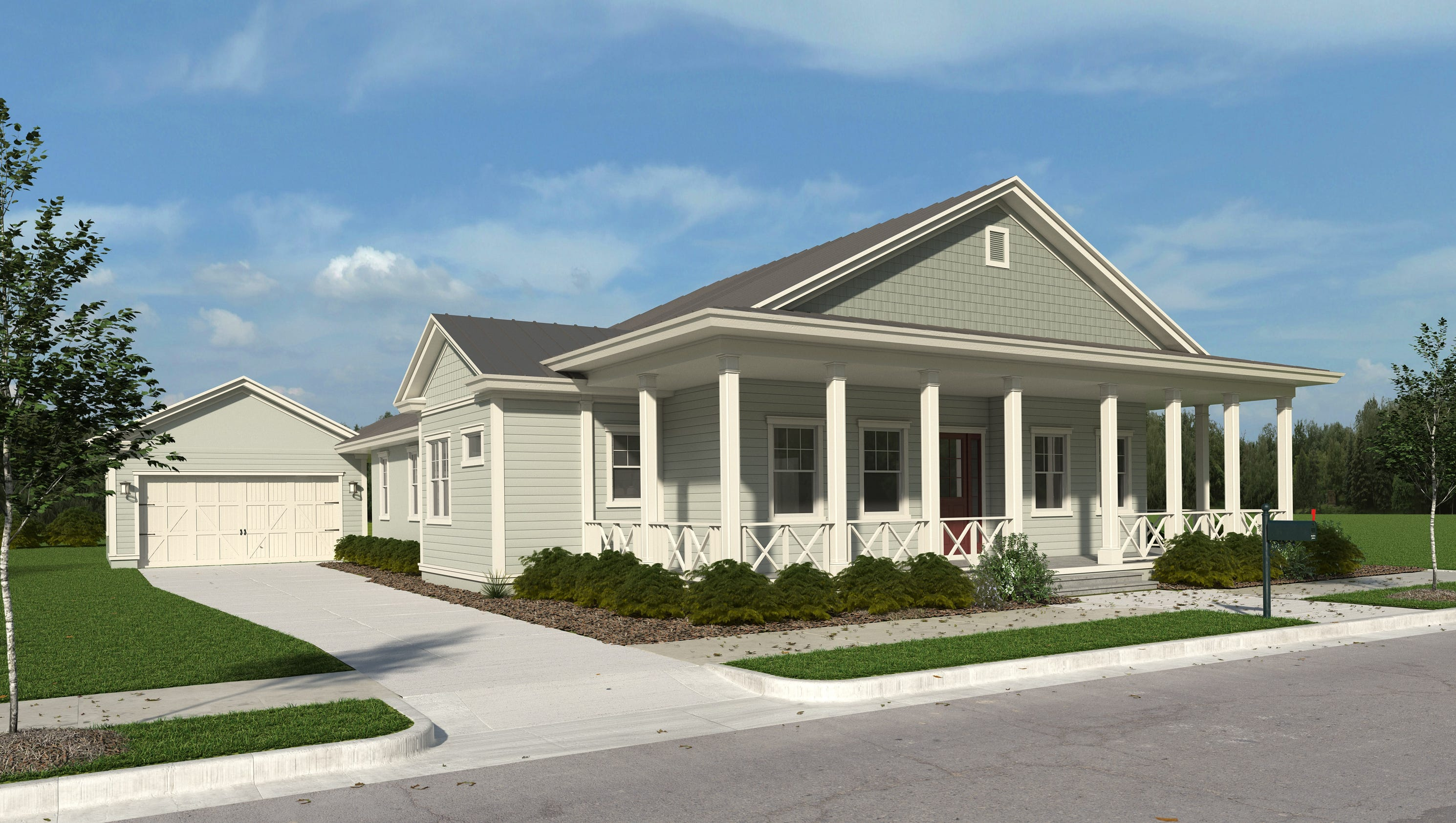 Florida lifestyle homes to start models in lake timber at for Ranch model homes