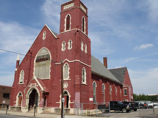 Newport's former Grace Methodist Episcopal Church has